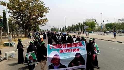 free zakzaky protest in abuja wed 20 feb 19