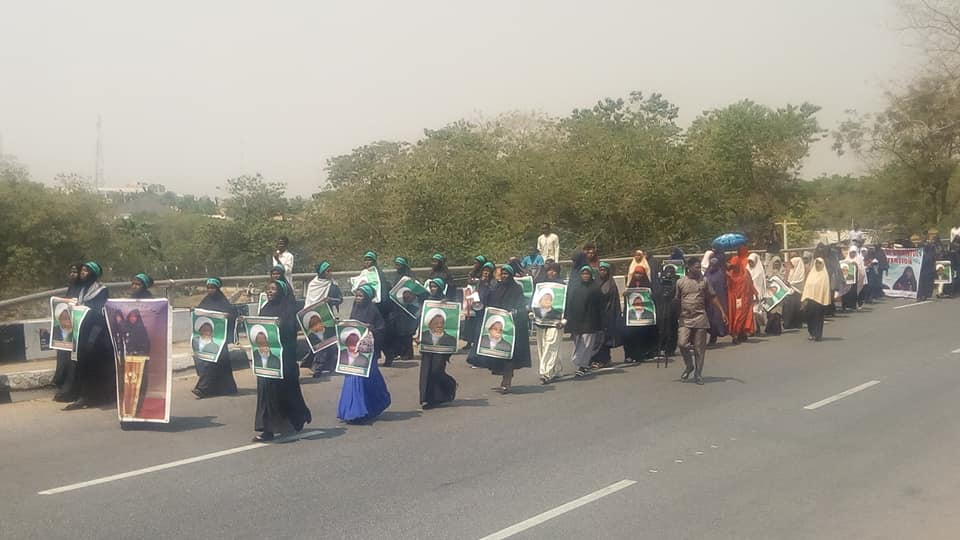 free zakzaky in abuja on 21 jan