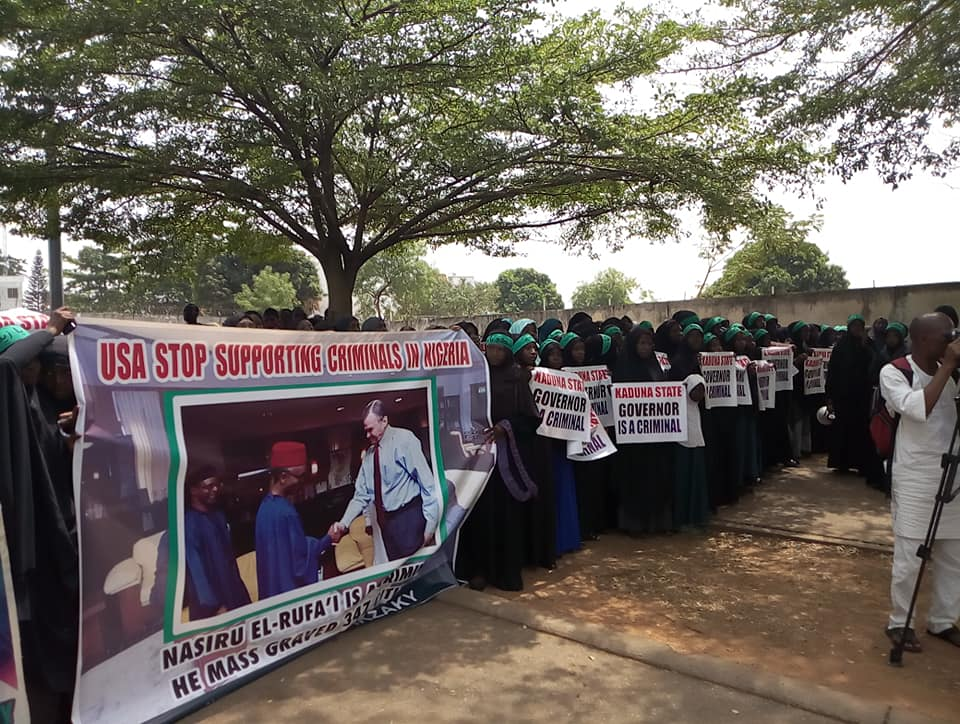 free zakaky at US embassy abj on 7th march