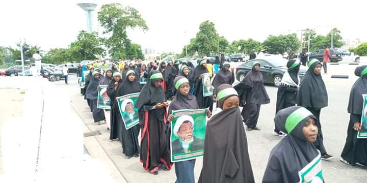 free zakzaky protest in abuja on thurs 20th of june 2019