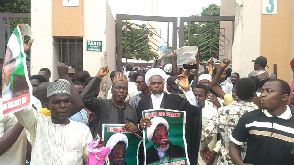 free zakzaky protest in abuja central mosque on fri 24 th of may 2019