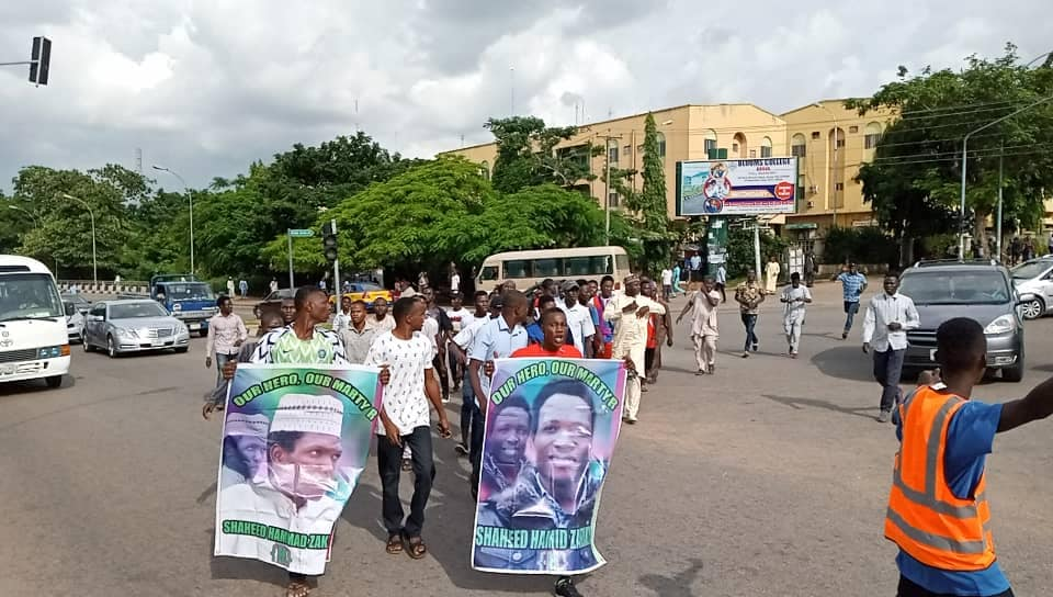 free zakzaky protest in abuja on tuesday 30th july 2019