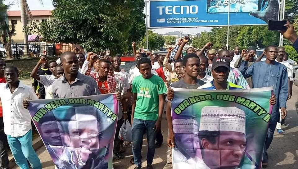 free zakzaky protest in abuja on wed 31st july 2019