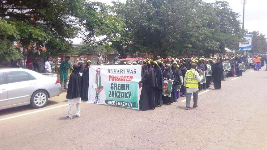 free zakzaky protest in Abuja on wed 3rd july 2019