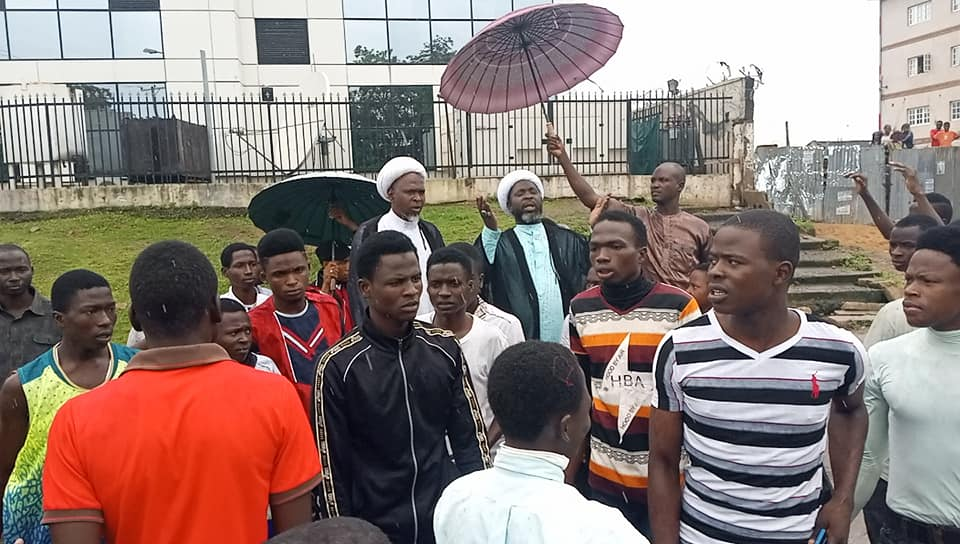 free zakzaky for treatment protest in abuja on thurs 8st of august 2019