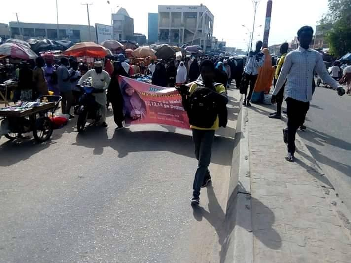 free zakzaky protest in kano on sat 6th july 2019