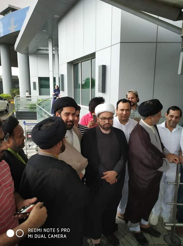 sheikh arrived in india
