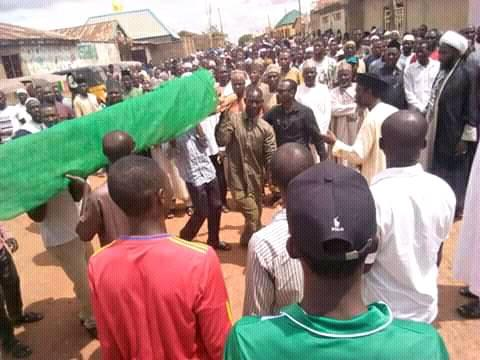 funeral of  martyr saeed in kaduna sunday 5th of june 2019