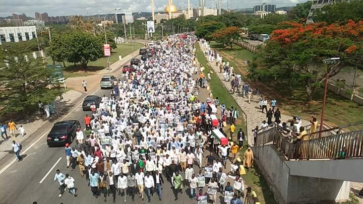 Quds day procession in Abuja on Fri the 31 th of may 2019