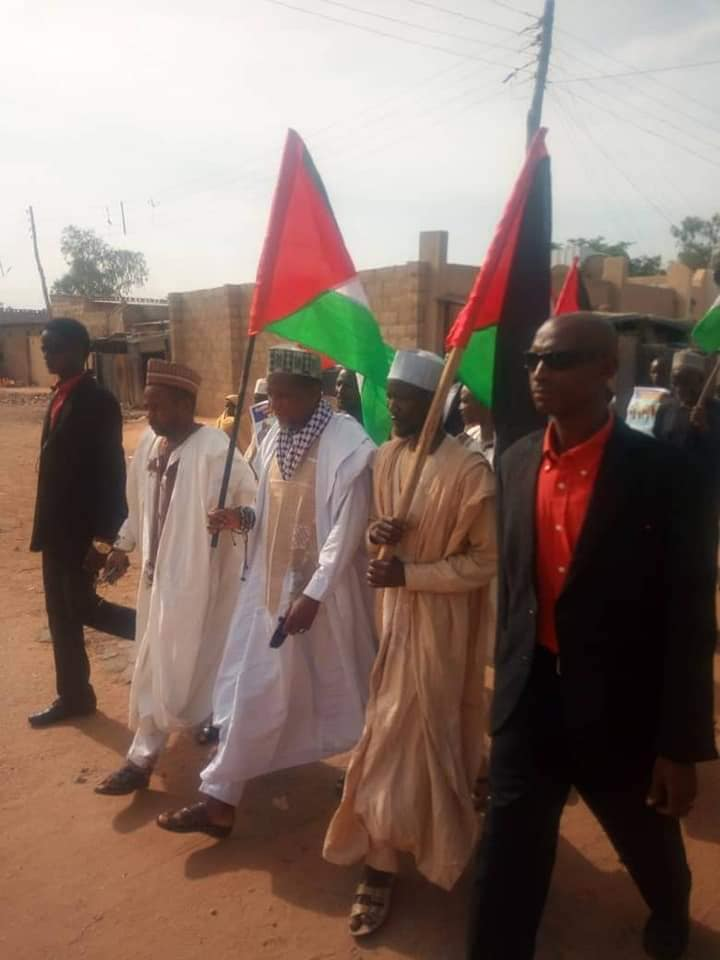 Quds day procession in Daura on Fri the 31 th of may 2019