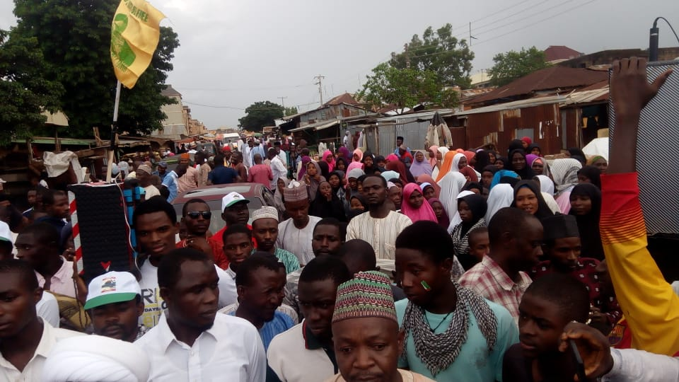 Quds day procession in Jos on Fri the 31 th of may 2019