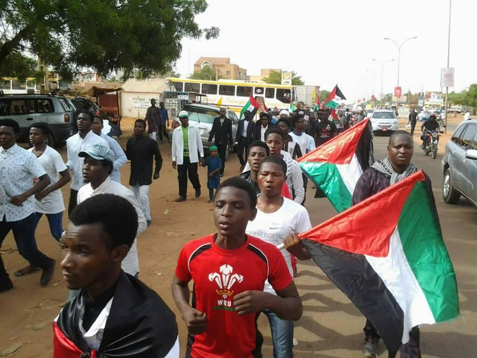 Quds day procession in Niger republic