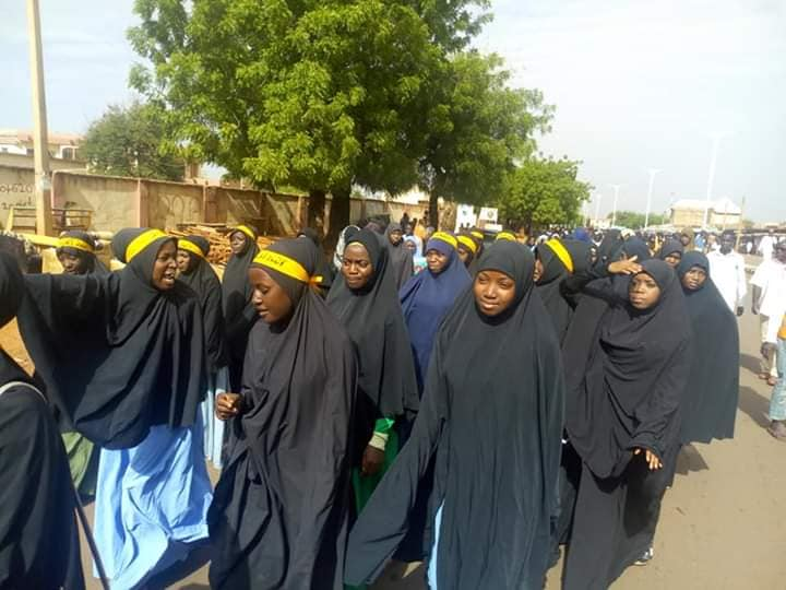 Quds day procession in sokoto on Fri the 31 th of may 2019